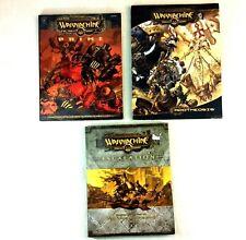 WARMACHINE Miniature Battle Game Books Escalation Prime & Apotheosis Steam Power