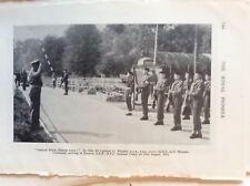 H1a Ephemera 1950s Royal Pioneer Picture Lt Gen Lashmer G Whistler Overton 1955