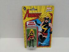 "Marvel Legends Retro Kenner The Avengers Carol Danvers 3.75"" Action Figure"