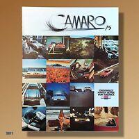 1975 Chevrolet CAMARO Mint UNCIRCULATED Color Dealer Brochure Sport, LT RS #3011