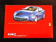 Ferrari 612 Warranty Card Service Manual Book Scaglietti 2003/03 2005
