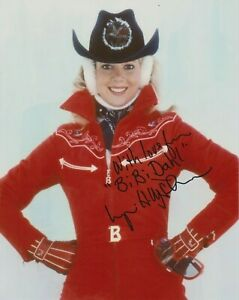 Lynn-Holly Johnson signed photograph - Bibi Dahl - For Your Eyes Only  - K529