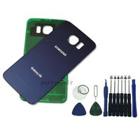 OEM Blue Battery Door Back Glass Cover Housing For Samsung Galaxy S6 G920 +Tool