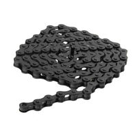 "MTB BMX Fixie Road Bike Chain Single Speed Bicycle Chain 1/2"" X 1/8"" BLACK"