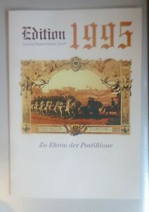Telefonkarten, Edition Deutsche Telekom Zu Ehren der Postillione  1995 ♥ (30323)