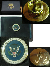 Presidential Barack Obama Lapel Pin - color seal
