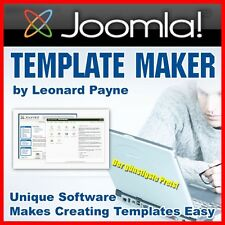 JOOMLA TEMPLATE MAKER für 32-Bit PCs SOFTWARE TEMPLATES DESIGN Vorlagen WOW MRR