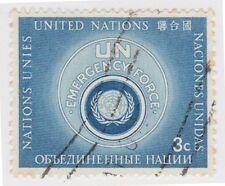 (UN17) 1957 United Nations 3c Blue UN Emergency ow51