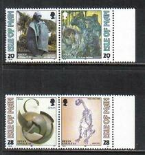Isle of Man 1993 Europa/Contemporary Art-Attractive Topical (558-61) Mnh