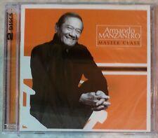 "MASTER CLASS by ARMANDO MANZANERO (2 CDs, 2006 - WEA - USA) BRAND NEW, ""SEALED"""