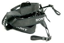 """Sony Three 1"""" Wide Shoulder Nylon Adjustable Straps """"a7"""" With Logos. Insurance."""