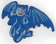 HOW TO TRAIN YOUR DRAGON, NIGHT FURY  IRON ON PATCH BUY 2 ,WE SEND 3.