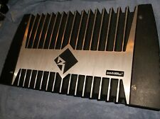 OLD SCHOOL ROCKFORD FOSGATE PUNCH 800a4 AMP + ENDCAPS!!   RARE 4-CHANNEL BEAST