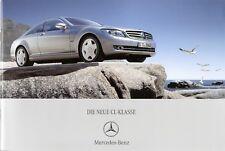 Prospekt / Brochure Mercedes CL-Klasse 02/2006