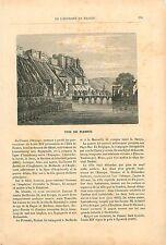 Namur Corsaire Jean Bart & René Duguay-Trouin 19th XIX GRAVURE ANTIQUE OLD PRINT