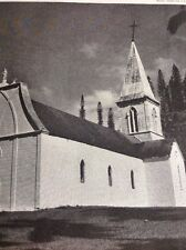 T1-8 Ephemera Picture 1963 Picture Isle Of Pines Church New Caledonia