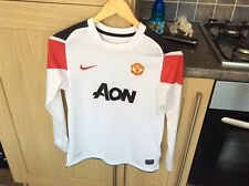 Manchester United Away Shirt! Long Sleeve! Chicharito #14! Season 2010/11