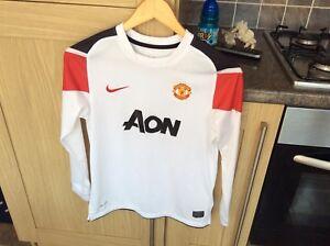 Manchester United Away Shirt! Long Sleeve! Chicharito #14! Season 2010/11