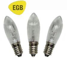 elfenbein 14V//7W 3Stk EGB Schaftkerzen E14 1,36€//Stk