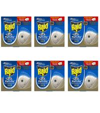 12 Ricariche per diffusore RAID NIGHT & DAY TRIO Zanzare, Zanzare Tigre Mosche