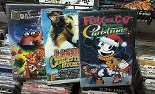 FELIX SAVES CHRISTMAS + NOEL NOEL + LASSIE CHRISTMAS STORY - 3 DVD SET  NEW FREE