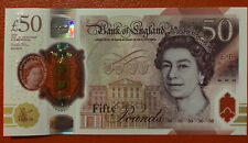 More details for new polymer £50  note bank of england   aa15 361767.