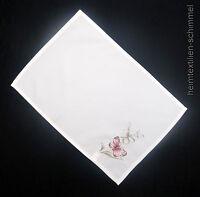 STICKEREI Tischdecke SCHMETTERLING Tischläufer Tischdeckchen Decke Deckche 35x50