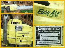 Pioneer 1074 Chainsaw 14in Easy Arc Starting 51.4cc Left Starting Fully Working