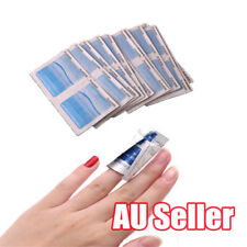 100Pcs Gel Polish Remover UV Soak Off AcetoneRemoval Wraps Nail Art Cleaner BK