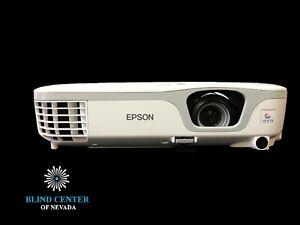 Epson PowerLite X12 3LCD Projector 2800 ANSI HDMI Cinema HD 1080i (337 hr lamp )
