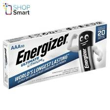 10 ENERGIZER AAA ULTIMATE LITHIUM L92 BATTERIES 1.5V MICRO MINI STILO NEW
