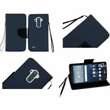 Étuis, housses et coques etuis portefeuilles bleus pour téléphone mobile et assistant personnel (PDA) LG