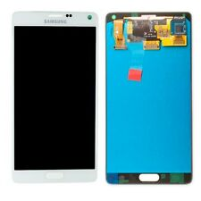 Display LCD Set completo gh97-16565a Bianco per Samsung Galaxy Note 4 n910f RICAMBIO