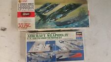 HAWKER SIDDLEY HARRIER AND U.S. WEAPONS KITS 1/72 PLASTIC MODEL KITS 2