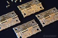 08 2 x Scharnier Möbelband Möbelbänder Möbelscharniere Antik Design Antikstil