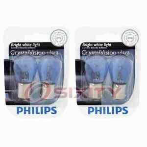 2 pc Philips Back Up Light Bulbs for Plymouth Arrow Pickup Barracuda fy
