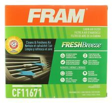 FRAM CF11671 FRESH BREEZE CABIN AIR FILTER WITH ARM & HAMMER - RAM / MAZDA