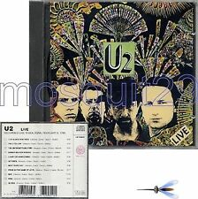 """U2 """"LIVE"""" RARE CD 1991 MADE IN ITALY - SEALED"""