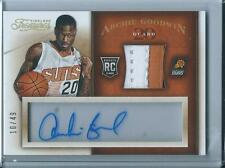 2013-14 Panini Timeless Treasures Archie Goodwin Phoenix Suns Auto Rookie /49