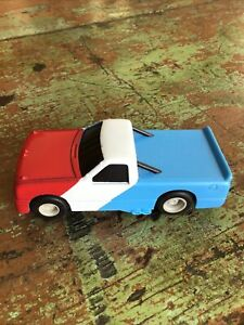 Artin Super Racing Slot Car Red White Blue Truck