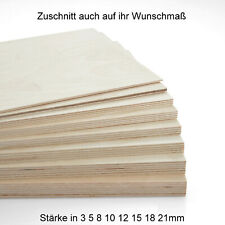 Holzzuschnitt in 15 X 15 cm 2,5 mm 150 X 150 mm 10 St/ück MDF Platte