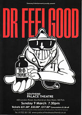 Dr Feelgood 'SOUTHEND PALACE THEATRE' March 2014 Concert A5 Flyer - New