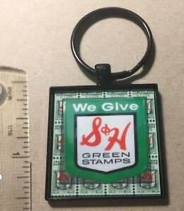 S&H GREEN STAMPS METAL KEY RING