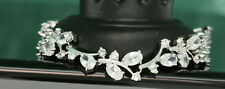 "2.75ct 14K White Gold Diamond Women's Bracelet Tennis Bracelet 7.25"" Wedding set"
