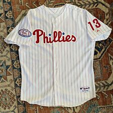 Authentic Billy Wagner #13 Philadelphia Phillies 2004 54 Majestic MLB Jersey USA