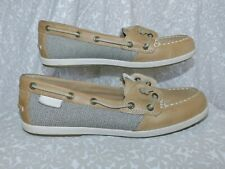 SPERRY CAMEL ANGELFISH BOAT SHOES SZ 8 M
