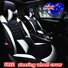 Black White Leather Car Seat Cover Holden Cruze Holden Commodore Captiva