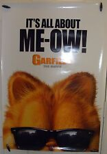 """Garfield: The Movie -27""""x40"""" 2 sided ORIGINAL Movie Poster -It's All About ME-OW"""