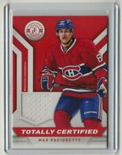13-14 2013-14 Totally Certified Jerseys Red #TCMP Max Pacioretty Montreal