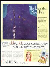 1946 hospital photo Camel cigarette More Doctors Smoke Camels print ad